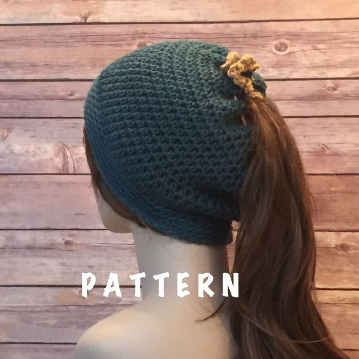 Fresh 17 Best Images About Crochet On Pinterest Crochet Hat with Ponytail Hole Of Attractive 47 Pics Crochet Hat with Ponytail Hole