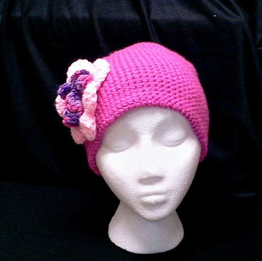 17 Best images about Crocheted Chemo hats on Pinterest