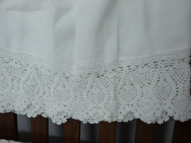Fresh 17 Best Images About Crocheted Lace Ruffled Bed Skirts Crochet Bed Skirts Of Gorgeous 41 Pics Crochet Bed Skirts