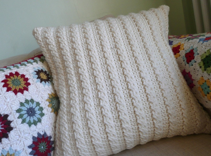 Fresh 17 Best Images About Decor Pillows On Pinterest Crochet Pillow Covers Of Incredible 47 Pics Crochet Pillow Covers