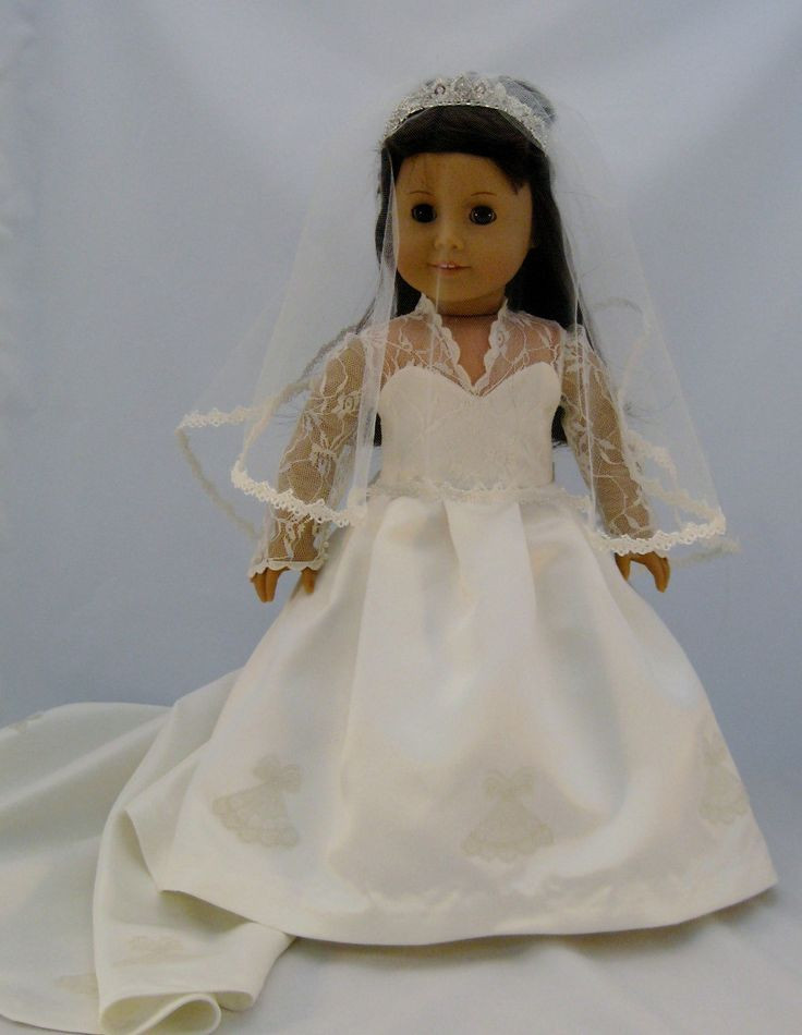 Fresh 17 Best Images About Dolls Clothes On Pinterest American Girl Doll Wedding Dress Of Best Of White Munion Wedding Dress formal Spring Church Fits 18 American Girl Doll Wedding Dress