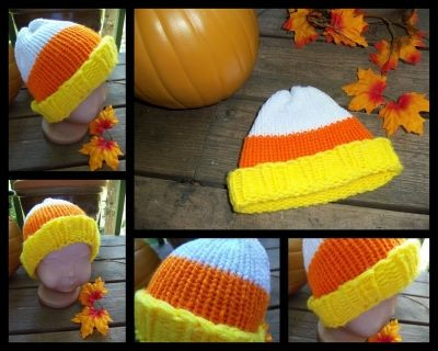 Fresh 17 Best Images About Knifty Knitter Halloween Patterns On Candy Corn Hat Of Incredible 42 Pictures Candy Corn Hat