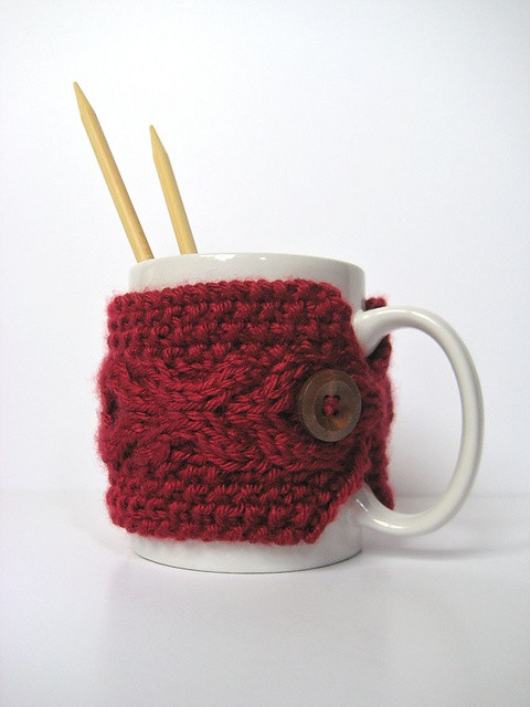 17 Best images about KNITTING CUP COZY on Pinterest