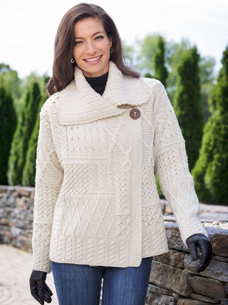 Fresh 17 Best Images About Women S Fall & Winter Apparel On Irish Aran Sweater Of Fresh 40 Pics Irish Aran Sweater