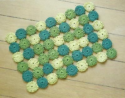 18 best images about Crochet place mats on Pinterest