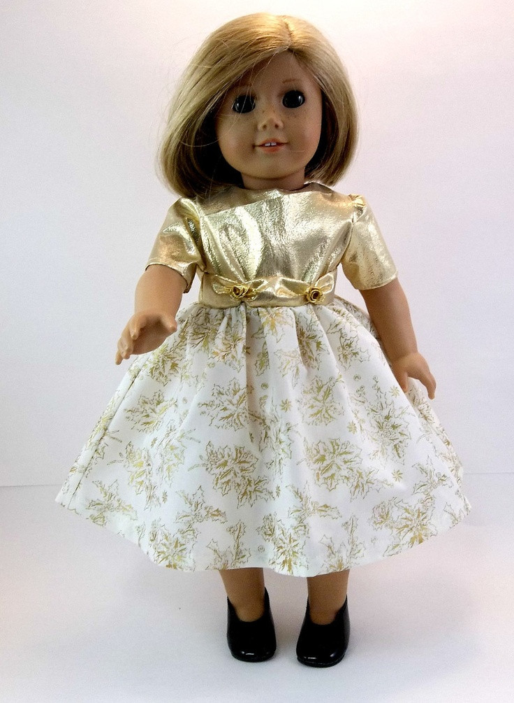 Fresh 18 Inch Doll Clothes American Girl Doll Dress Gold and American Doll Dresses Of Great 47 Images American Doll Dresses
