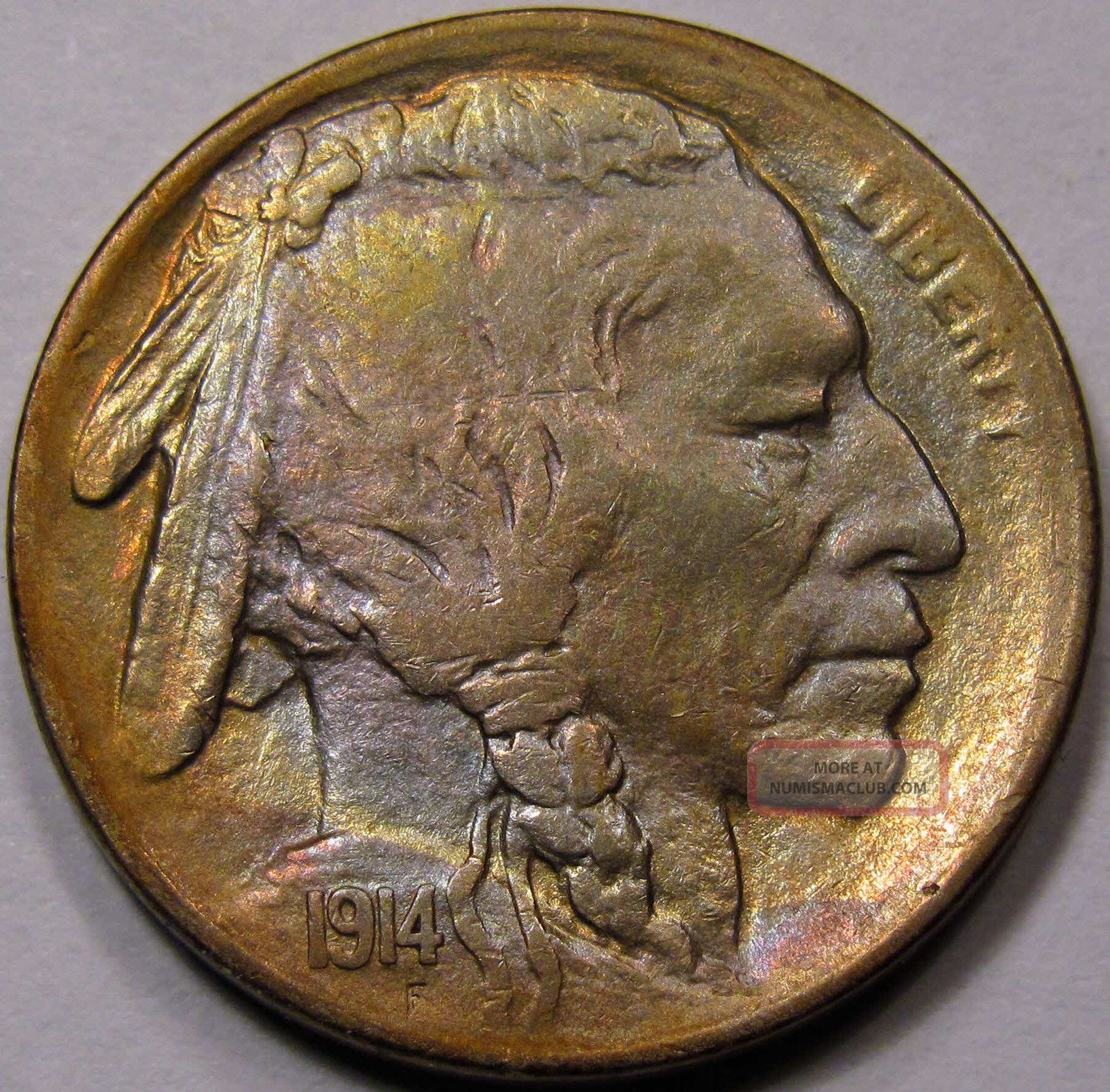 Fresh 1914 S Buffalo Nickel Ms Bu Choice Bu toning Gold Us Buffalo Nickel Of Amazing 48 Ideas Us Buffalo Nickel