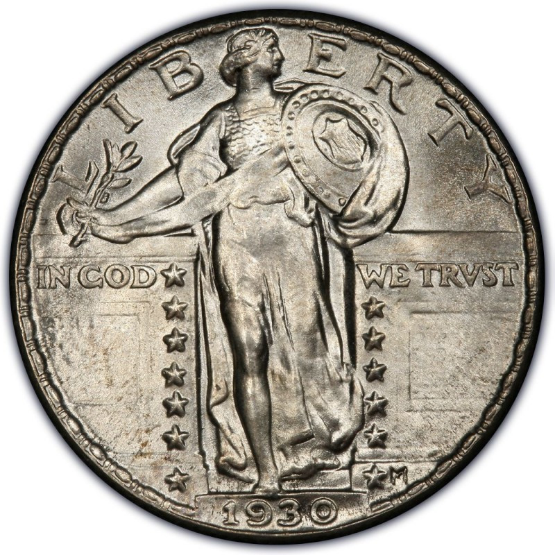 1930 Standing Liberty Quarter Values and Prices Past