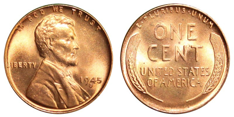 Fresh 1945 D Lincoln Wheat Cent Bronze Posite Penny Value Lincoln Cent Values Of Amazing 50 Images Lincoln Cent Values
