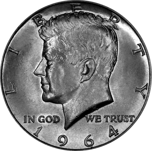 Fresh 1964 Usa Kennedy Silver Half Dollar Obverse Kennedy 50 Cent Piece Value Of Great 41 Pics Kennedy 50 Cent Piece Value