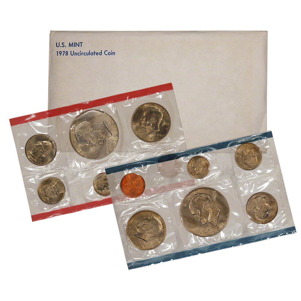 1978 United States Mint Uncirculated Coin Set