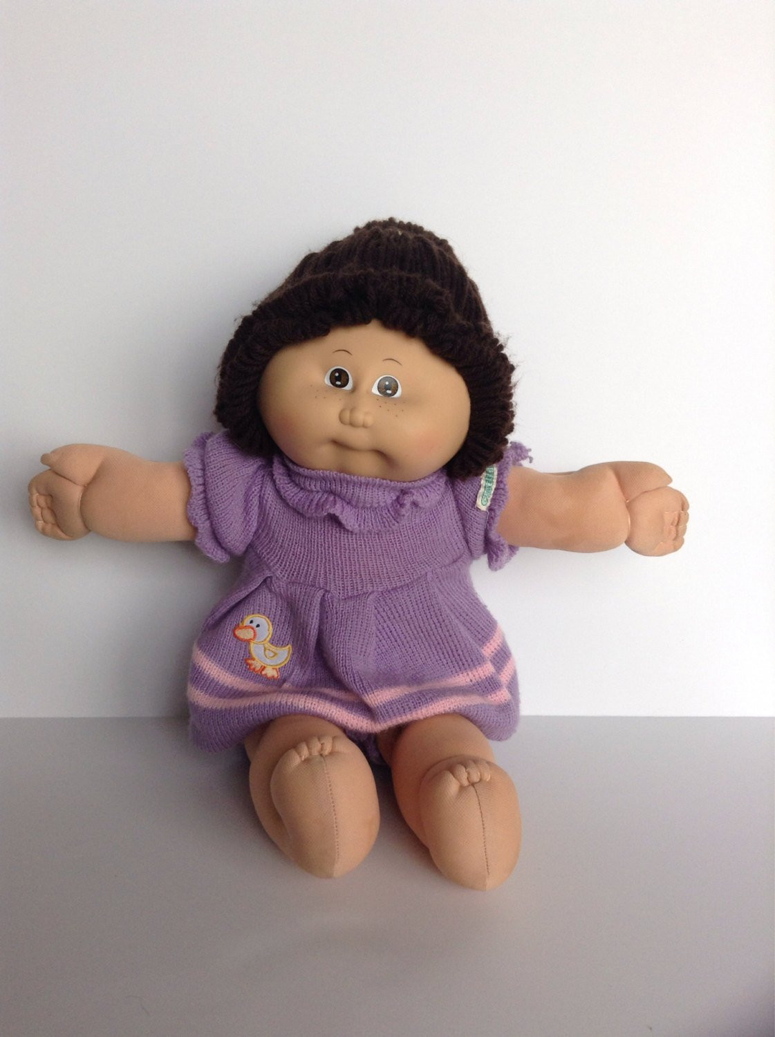 1982 Cabbage Patch Kid Doll with Freckles