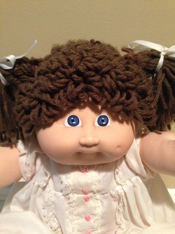 Fresh 1982 Vintage Cabbage Patch Kids Doll Brunette Blue Eyes Collectible Cabbage Patch Dolls Of Luxury 42 Pics Collectible Cabbage Patch Dolls