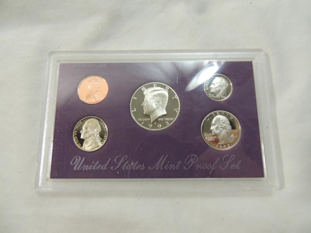 Fresh 1993 United States Mint Proof Coin Set United States Mint Proof Set Of Charming 43 Photos United States Mint Proof Set