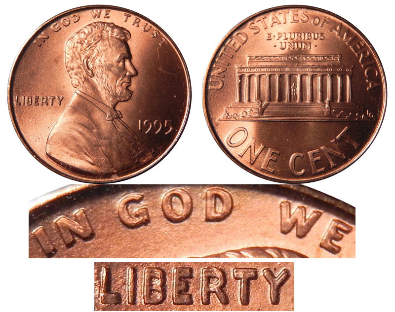 Fresh 1995 Lincoln Memorial Cent Doubled Die Copper Plated Zinc Double Die Penny Value Of Wonderful 48 Pictures Double Die Penny Value