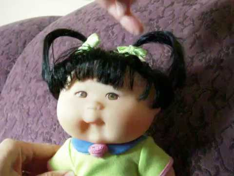 1995 Mattel Cabbage Patch Kids doll with grow hair