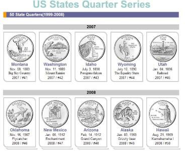 Fresh 1999 2008 Platinum Plated Csn Mint State Quarter 50 State Quarter Collection Of Adorable 42 Pictures 50 State Quarter Collection