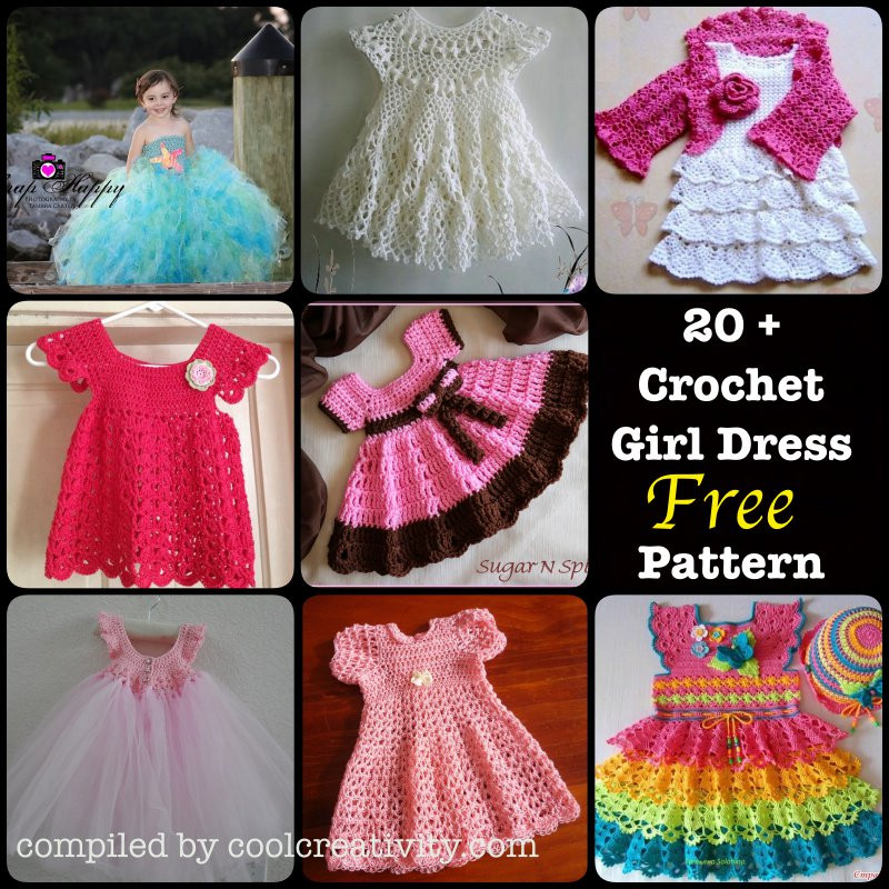 Fresh 20 Crochet Girl Dress with Free Pattern Page 4 Of 4 Crochet Girl Dress Of Awesome 46 Images Crochet Girl Dress