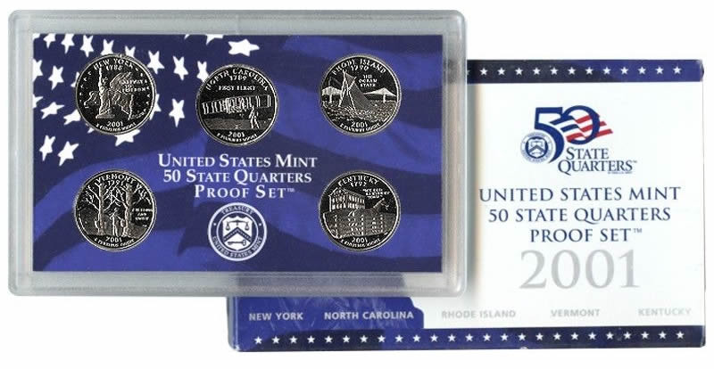 Fresh 2001 Us Proof State Quarters Set Mintage Figures and Us State Quarter Collection Of Charming 49 Ideas Us State Quarter Collection