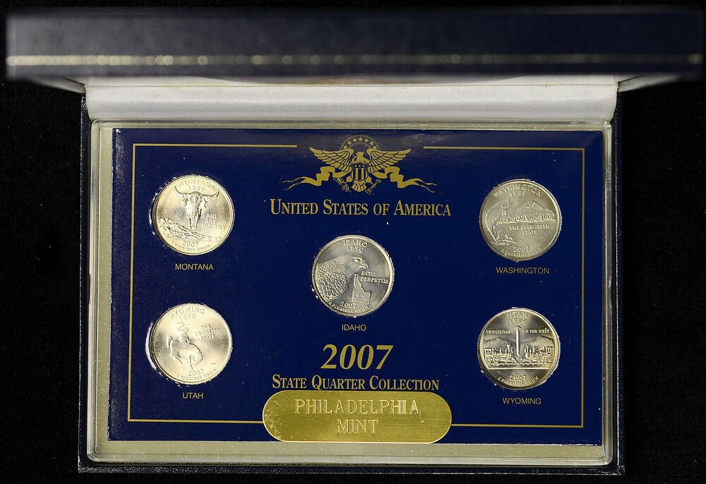 Fresh 2007 United States Memorative Gallery State Quarter Us State Quarter Collection Of Charming 49 Ideas Us State Quarter Collection