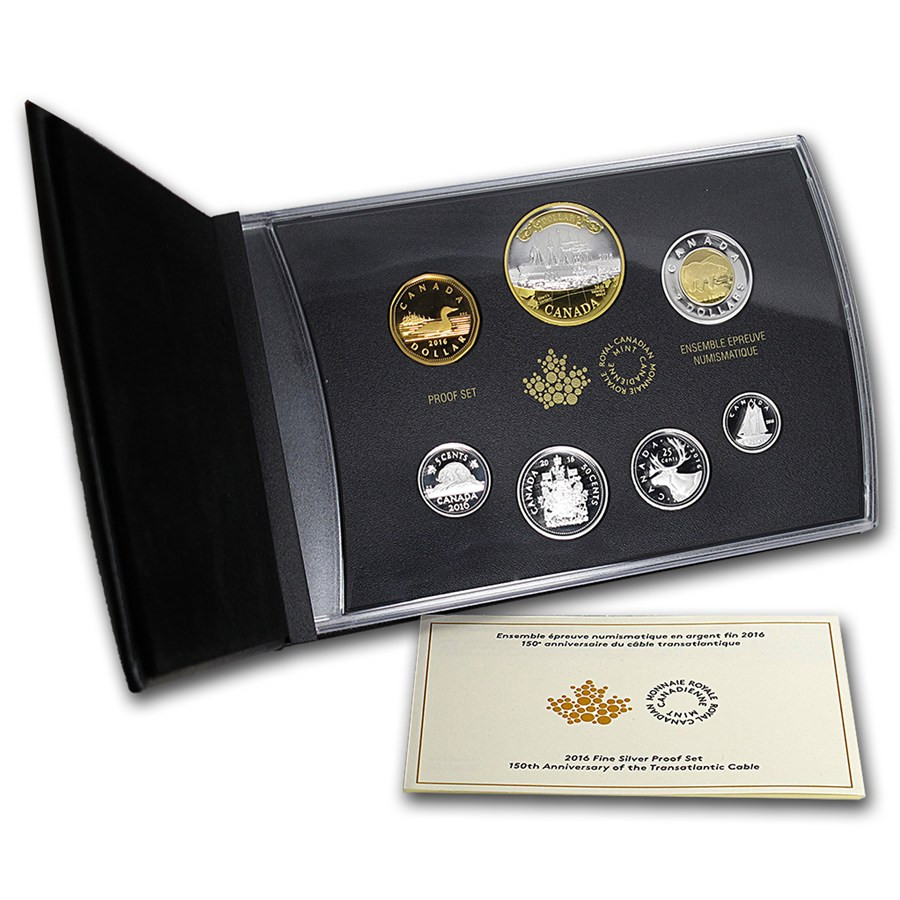 Fresh 2016 Canada Silver Anniv Of Transatlantic Cable Proof Set Proof Sets Of Great 40 Photos Proof Sets