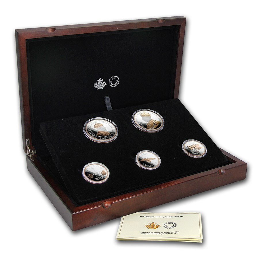 Fresh 2017 Canada Legacy Of the Penny Silver Proof Set Proof Sets Of Great 40 Photos Proof Sets