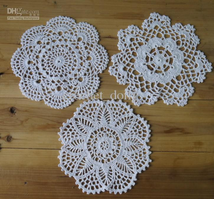 Fresh 2018 Handmade Crochet Pattern 3 Designs Crocheted Doilies Crochet Table Mat Of Gorgeous 47 Ideas Crochet Table Mat