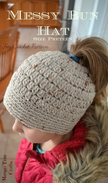 Fresh 23 Free Messy Bun Hat Crochet Patterns Make A Ponytail Bun Beanie Crochet Pattern Of Charming 42 Pics Bun Beanie Crochet Pattern