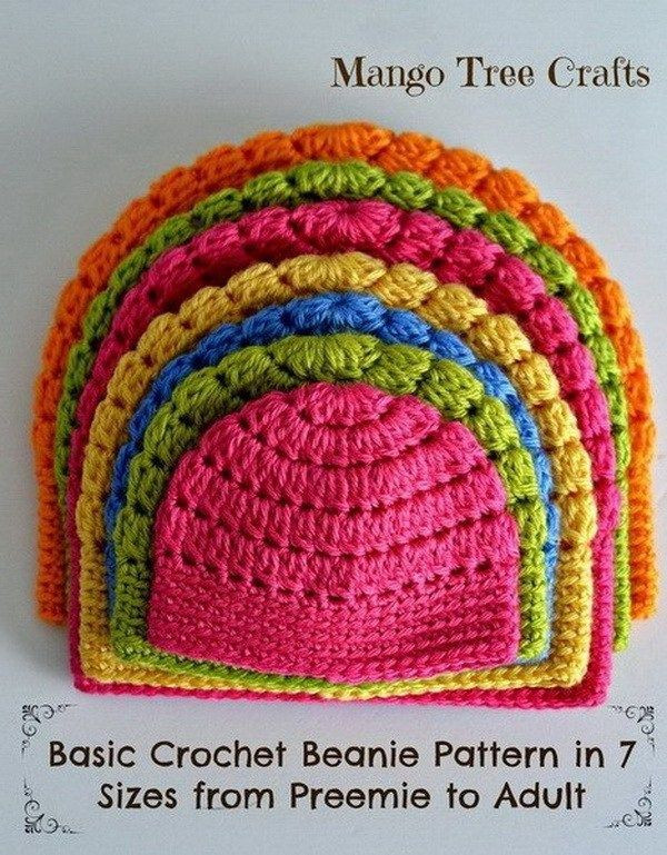 Fresh 25 Best Ideas About Easy Crochet Hat On Pinterest Easy Crochet Hat Patterns for Beginners Of Perfect 43 Models Easy Crochet Hat Patterns for Beginners