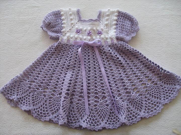 Fresh 26 Gorgeous Crochet Baby Dress for Babies Crochet Dress for Baby Of Amazing 42 Photos Crochet Dress for Baby