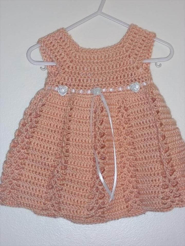 Fresh 26 Gorgeous Crochet Baby Dress for Babies Crochet Little Girl Dress Of Awesome 44 Images Crochet Little Girl Dress