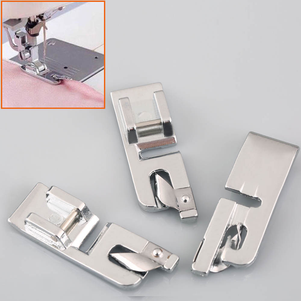 Fresh 3x Rolled Hem Curling Presser Foot Feet for Sewing Machine Sewing Machine Foot Of Unique 40 Ideas Sewing Machine Foot