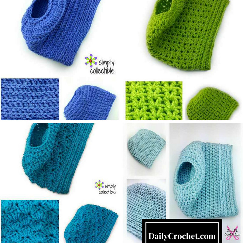 4 Awesome Ponytail Hat And Bun Hat Free Crochet Patterns