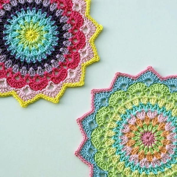 Fresh 40 Pretty and Easy Crochet Doily for Beginners Bored Art Easy Crochet for Beginners Of Brilliant 49 Pics Easy Crochet for Beginners