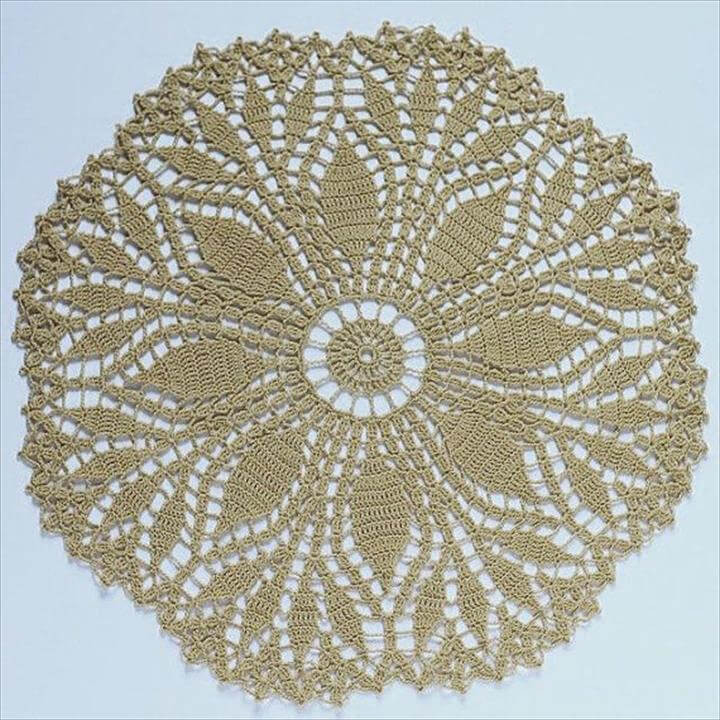 Fresh 42 Quick & Easy Crochet Doily Pattern Easy Crochet Doily for Beginners Of Top 40 Pictures Easy Crochet Doily for Beginners