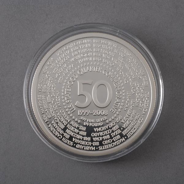 432 Giant Silver 50 States 4 Ounce memorative Coin