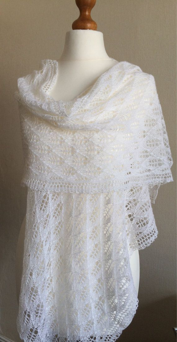 Fresh 46 Best Images About Hand Knitted Lace Shawls On Pinterest Knitted Wedding Shawl Of Awesome Wedding and Bridal Knitting Patterns Knitted Wedding Shawl