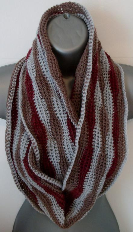 Fresh 5 Fab & Free Crochet Infinity Scarf Patterns Infinity Cowl Crochet Pattern Of Awesome 49 Pics Infinity Cowl Crochet Pattern