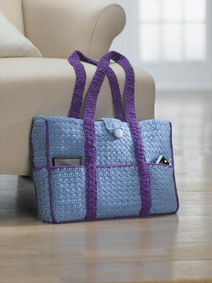 50 diy crochet purse tote bag patterns