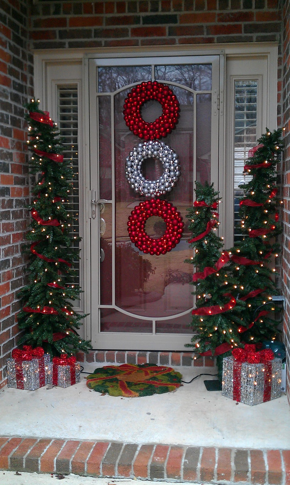 Fresh 50 Stunning Christmas Porch Ideas Christmas Decorating Red Christmas Decorations Of Fresh 42 Images Red Christmas Decorations