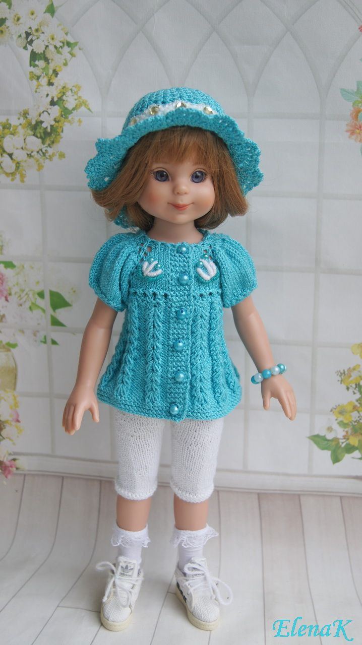 crochet knit 18 american girl doll clothes