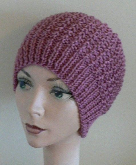 52 best Knitted Chemo Hats images on Pinterest