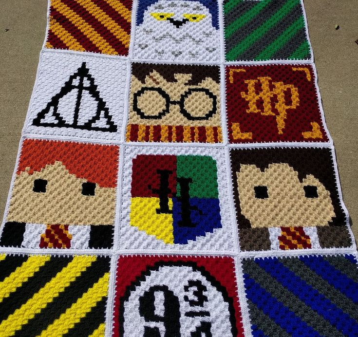 Fresh 527 Best C2c Graphghans and Pixel Blankets Images On Harry Potter Crochet Blanket Of Luxury 42 Models Harry Potter Crochet Blanket