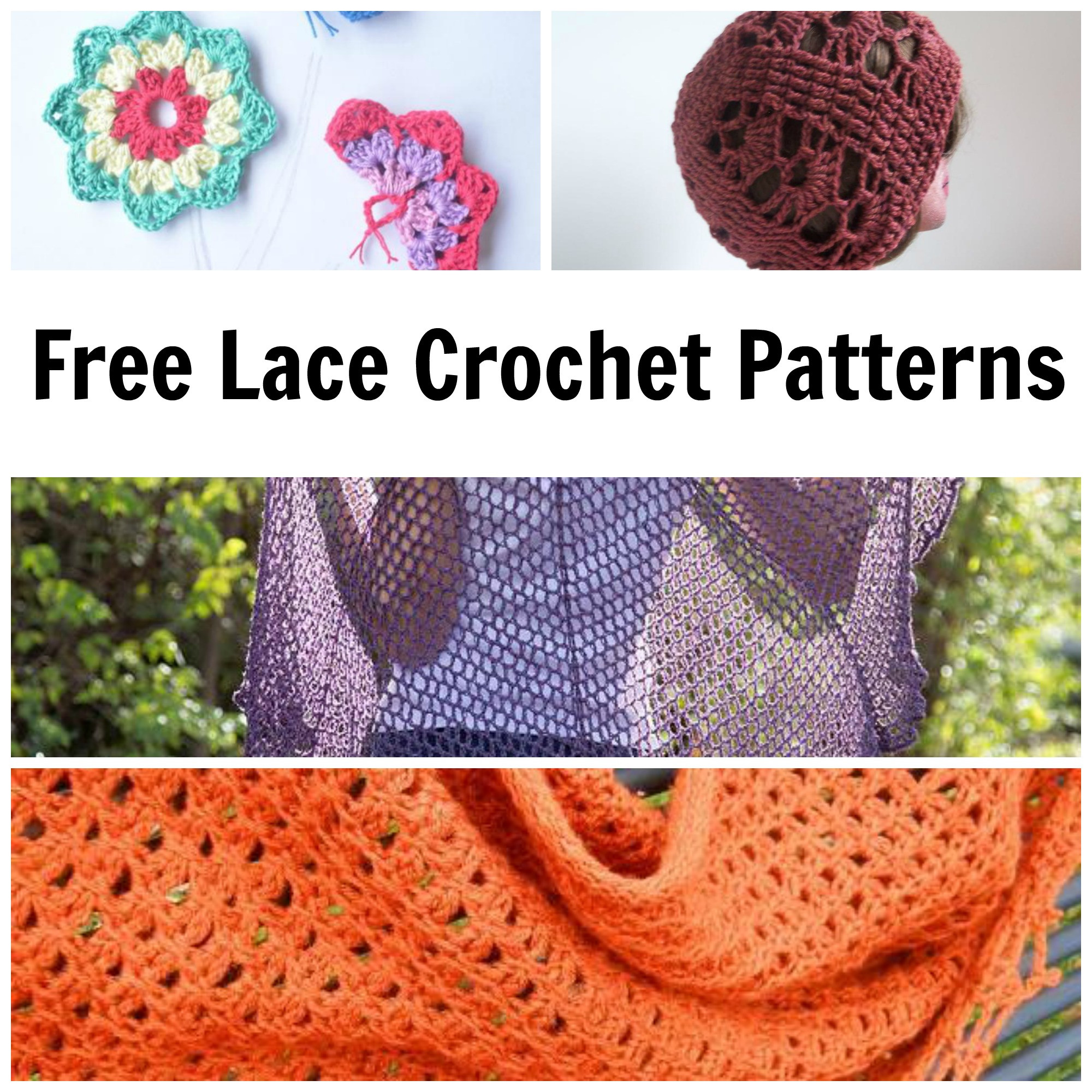 7 Classic Beautiful FREE Lace Crochet Patterns