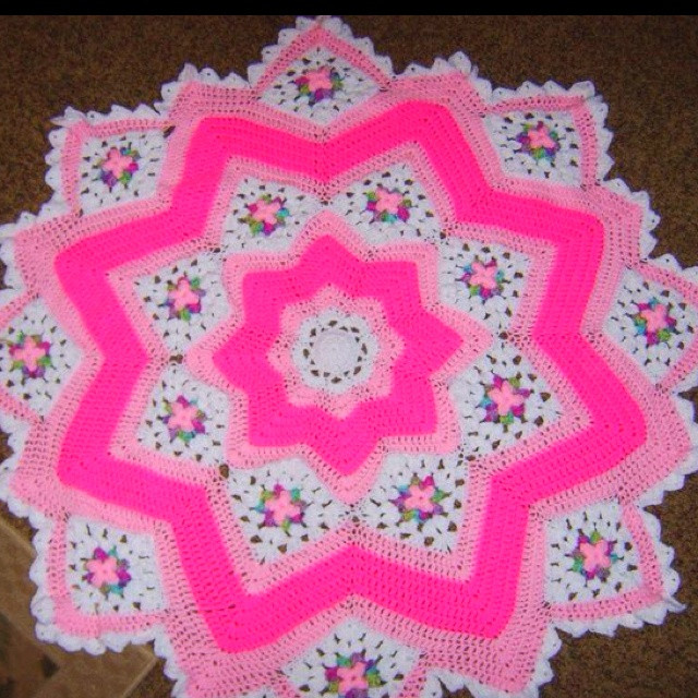 Fresh 78 Best Images About Round Ripple Rugs & Star Type Crochet Star Afghan Pattern Of New 45 Photos Crochet Star Afghan Pattern
