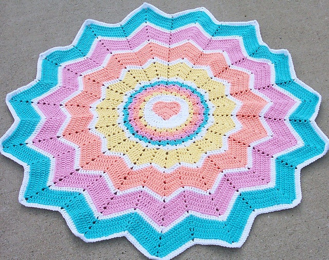 Fresh 78 Best Images About Round Ripple Rugs & Star Type Round Crochet Blanket Of Fresh 46 Models Round Crochet Blanket