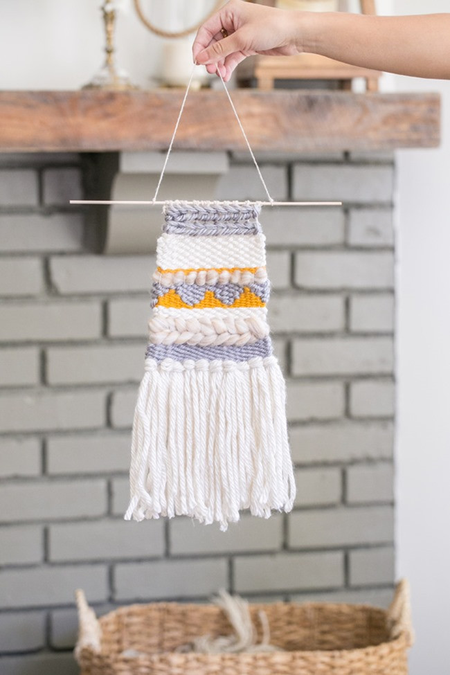Fresh 8 Diy Weaving Projects Weaving Wall Hanging Of Brilliant 43 Models Weaving Wall Hanging