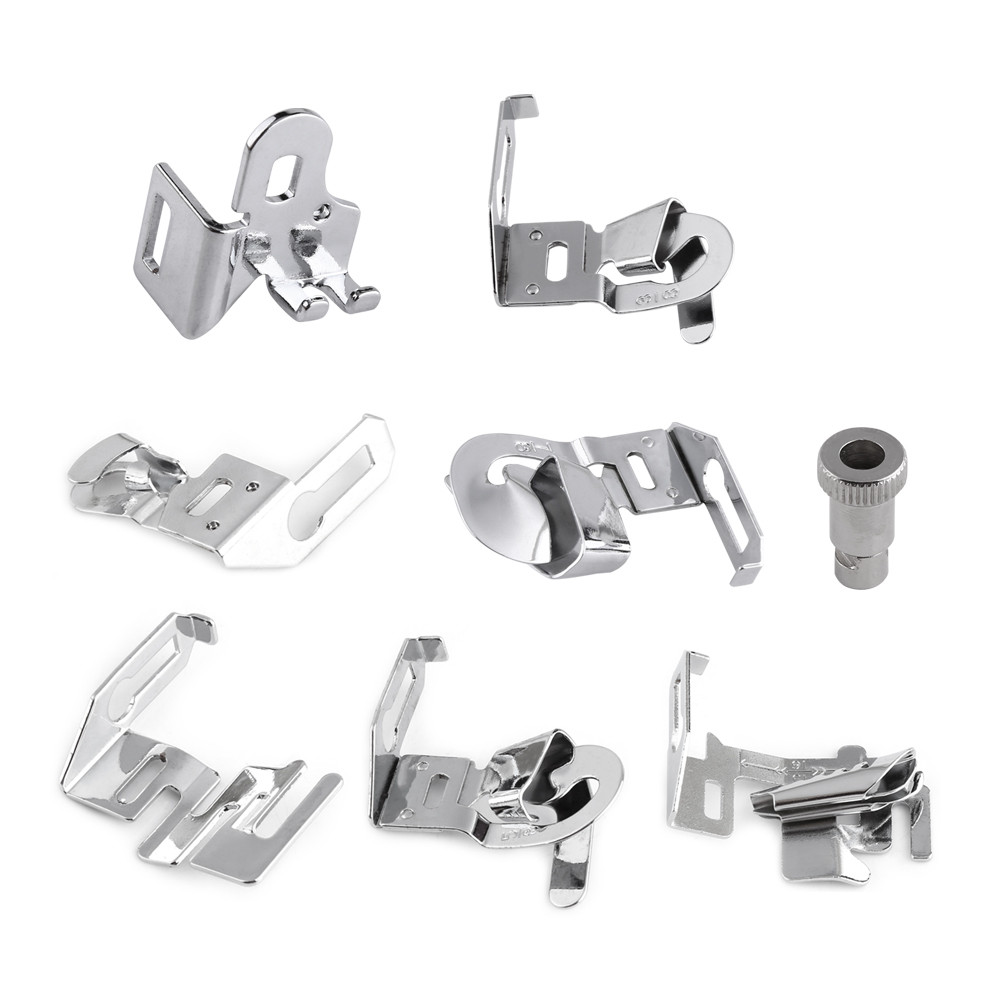 Fresh 8pcs Domestic Sewing Machine Presser Feet Snap On Foot for Singer Sewing Machine Feet Of Amazing 50 Pics Singer Sewing Machine Feet