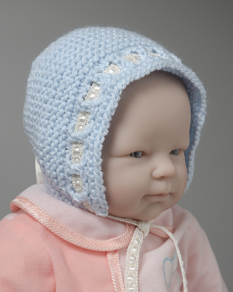 Fresh Adjustable Knitted Newborn Baby Hat Pattern Gifts U Can Make Knitted Baby Bonnet Of Top 47 Pics Knitted Baby Bonnet