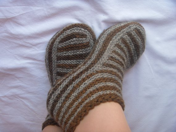 Fresh Adult Slippers Pattern Knitting Patterns Knit Slipper Pattern Knitted Booties for Adults Of Delightful 47 Images Knitted Booties for Adults